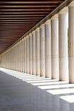 Las columnas Imagen de archivo libre de regalías