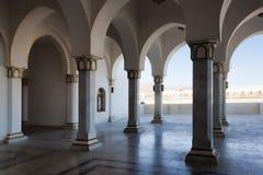 Las columnas de la mezquita imágenes de archivo libres de regalías