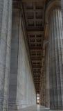 Las columnas del Walhalla en Regensburg Foto de archivo libre de regalías