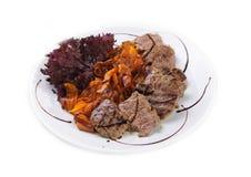 Las comidas deliciosas de la carne de vaca Imágenes de archivo libres de regalías