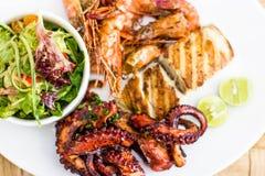 Las comidas tradicionales de Zanzíbar imagen de archivo libre de regalías