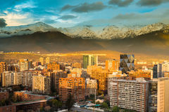 Las Condes district Royalty Free Stock Photography
