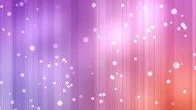 Las corrientes púrpuras y anaranjadas de la luz con el brillo protagonizan libre illustration