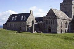 Las cruces de Iona Abbey Fotografía de archivo