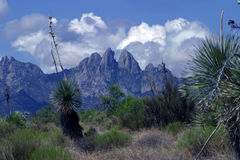 Las Cruces Mountains Royalty Free Stock Photos