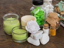 Las cualidades del aromatherapy Imagen de archivo libre de regalías