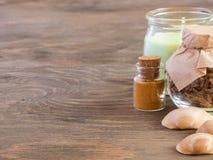 Las cualidades del aromatherapy Fotografía de archivo libre de regalías