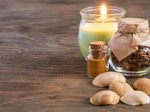 Las cualidades del aromatherapy Imágenes de archivo libres de regalías