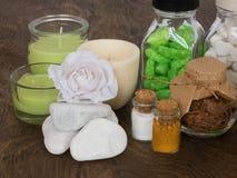 Las cualidades del aromatherapy Imagenes de archivo