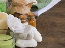 Las cualidades del aromatherapy Fotos de archivo libres de regalías
