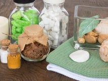 Las cualidades del aromatherapy Foto de archivo libre de regalías