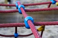 Las cuerdas se divierten, al aire libre la vida del active del paño Imagen de archivo
