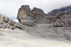 Las cuestas de las montañas del suizo de Eiger Imagen de archivo libre de regalías