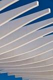 Las curvas del blanco Foto de archivo