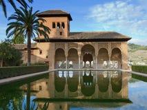 Las Damascus de Torre de d'Alhambra Photographie stock libre de droits