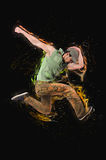 Las danzas del baile del bailarín fotos de archivo libres de regalías