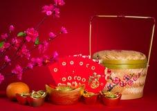 Las decoraciones chinas del Año Nuevo, carácter chino del generci simbolizan Fotos de archivo