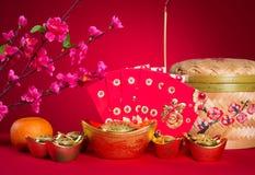 Las decoraciones chinas del Año Nuevo, carácter chino del generci simbolizan Fotografía de archivo libre de regalías