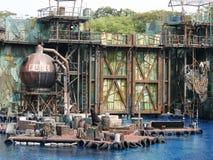 Las decoraciones de la demostración de Waterworld Imagen de archivo
