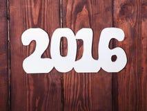 Las decoraciones del Año Nuevo Fotos de archivo