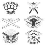 Las derechas del caballero Fotografía de archivo