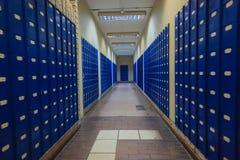 Cajas privadas del correo postal Imagen de archivo libre de regalías