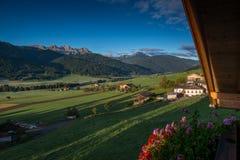Las dolomías de Italien, el Tyrol del sur e italien las montañas, paisaje hermoso de la montaña, tre cime di lavaredo Foto de archivo libre de regalías
