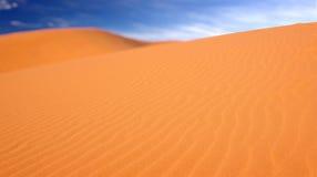 Las dunas de arena rosadas en el parque de Coral Pink Sand Dunes State en Utah Fotos de archivo libres de regalías