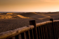 Las dunas de Maspalomas Royalty Free Stock Photos