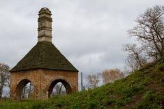El castillo de antaño XVI envejece el horno Ostrog de Janusz Foto de archivo libre de regalías