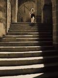 Las escaleras Foto de archivo