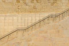 Las escaleras de la subida imagen de archivo