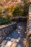 Las escaleras de piedra en Stone Mountain parquean, Georgia, los E.E.U.U. Imagen de archivo libre de regalías