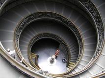 Las escaleras espirales fotos de archivo libres de regalías