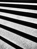 Las escaleras Mirada artística en blanco y negro Fotos de archivo