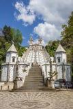 Las escaleras que llevan a Bom Jesús hacen a Monte en Braga Imagen de archivo