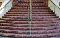 Las escaleras redondas se cierran Foto de archivo libre de regalías