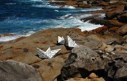 Las esculturas por la exposición del mar en Bondi varan, Sydney, Australia Fotografía de archivo