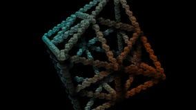 Las esferas coloridas hermosas y asombrosas 3D resumen el ejemplo ilustración del vector