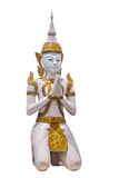 Las estatuas budistas tailandesas Foto de archivo