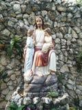 Las estatuas Jesús Imagen de archivo