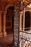 Las fabricaciones de acero del vintage hermoso en el palacio de Bangalore Fotografía de archivo