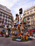 Las Fallas, Valencia, España Fotografía de archivo libre de regalías