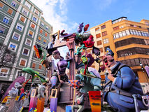 Las Fallas, Valencia, Spain Stock Photo