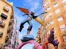 Las Fallas, Valencia, Spain Royalty Free Stock Photography