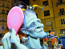 Las Fallas, Valencia, Spain Royalty Free Stock Image