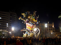 Las Fallas, Valencia, Spain Stock Photos