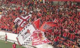 Las fans Foto de archivo