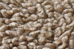 Las fibras de la alfombra se cierran para arriba Imagen de archivo