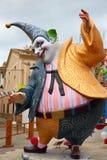 Las figuras populares del fest de Fallas quemarán en el 19 de marzo Foto de archivo